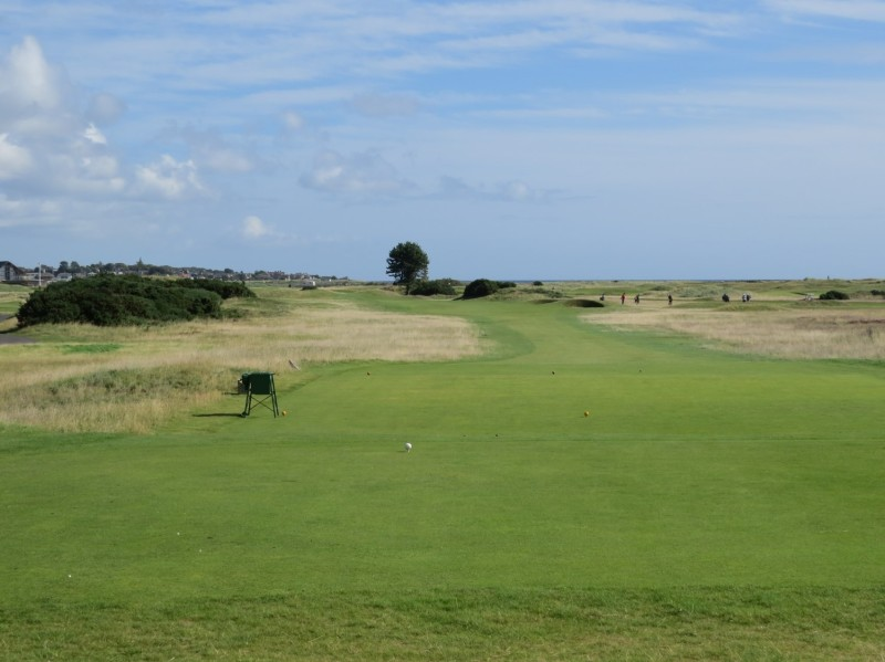 Excellent grassland management throughout the three courses at Carnoustie Golf Links