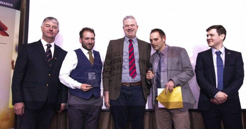 Corhampton Golf Club with Bob Taylor (l), and Rowan Rumball (r)